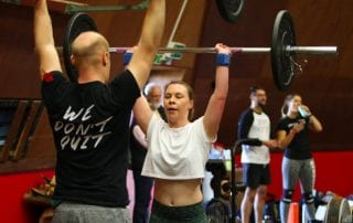 Crossfit Thrusters