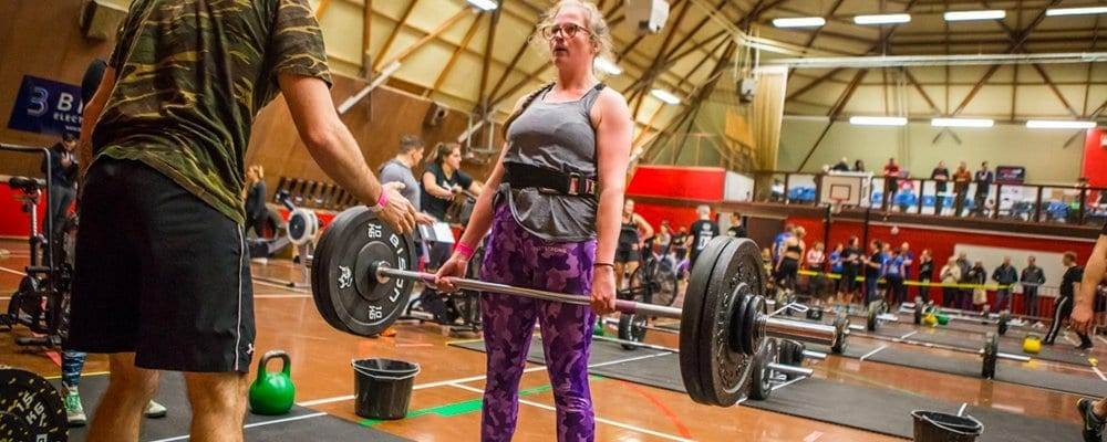 Katie McClean Deadlift Crossfit