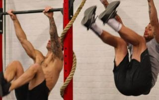 Justin Barnes & Wesley Lockwood Toes to bar Crossfit