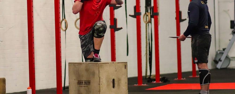 Box Step Ups CrossFit