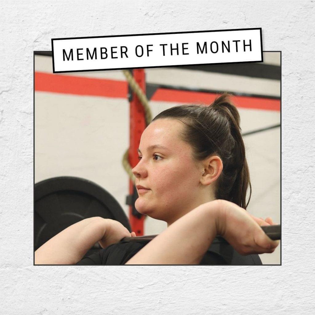 Esme Harris Member of the Month