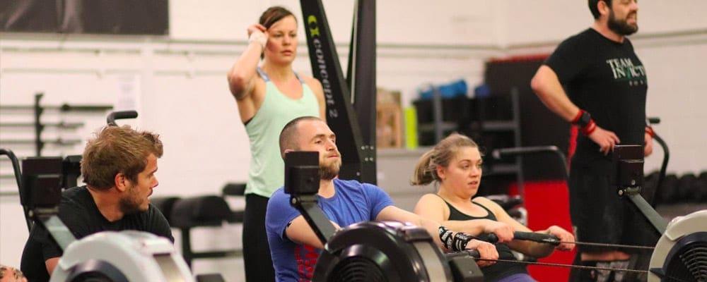 CrossFit Rowing GAIN Fitness Norwich