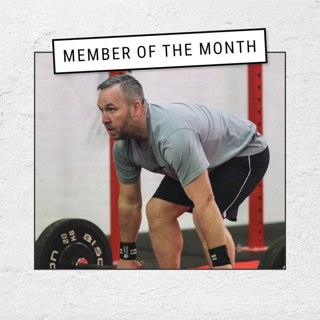 Scott Harmer Member of the Month