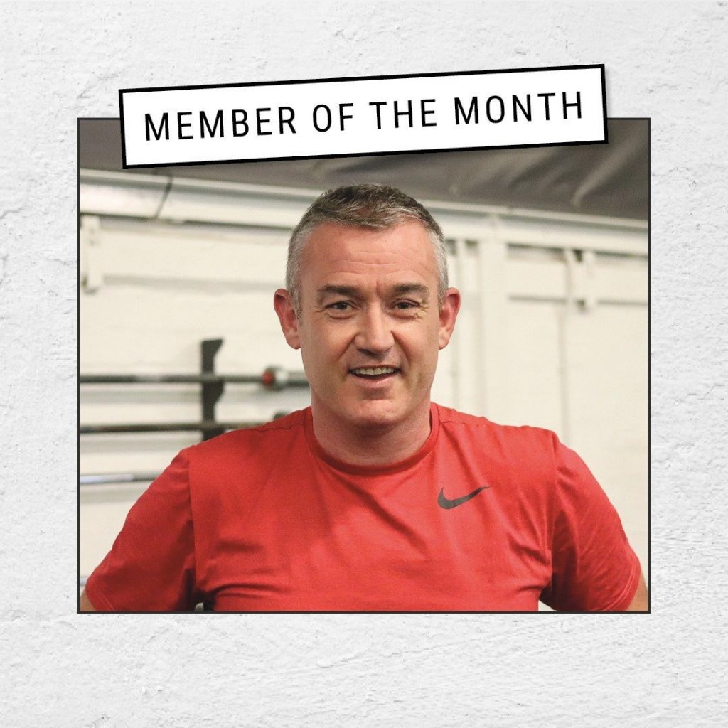 Russell Watkins Member of the Month