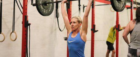 Becky Willet doing a snatch