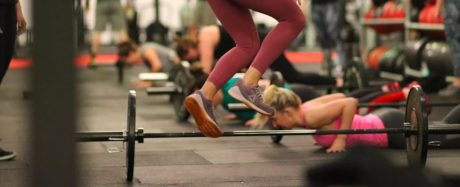 Burpees over the bar