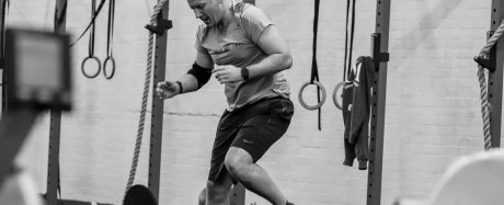 Chris Woodhouse working out in a class at GAIN Fitness Norwich