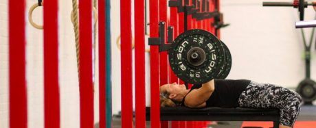Bench Press in a CrossFit Class