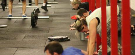 CrossFit Down Ups