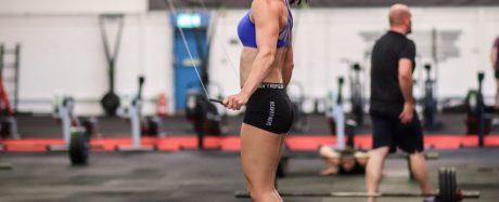 Rachel Wilkinson doing Double Unders